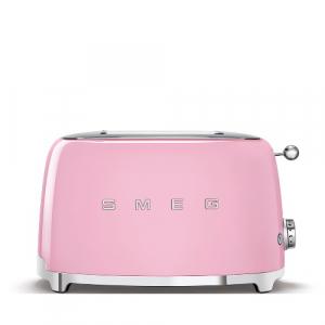 Smeg Broodrooster 2x2 Roze